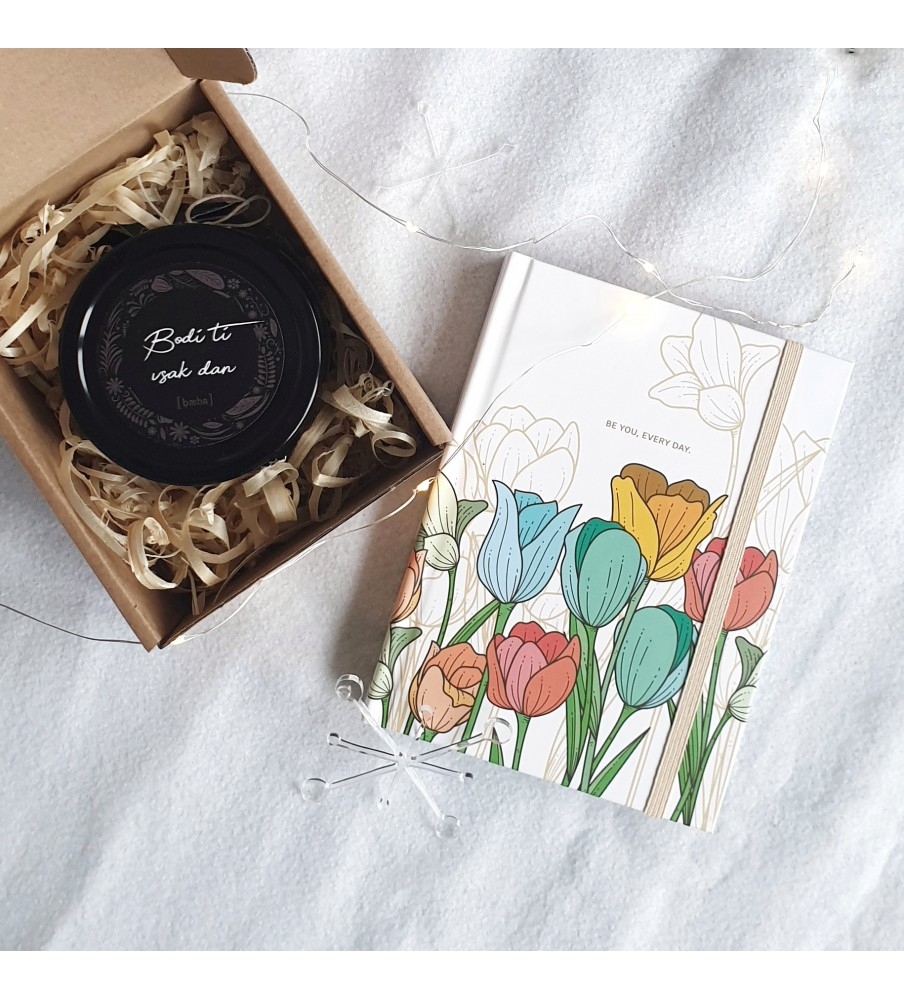 "Gift set ""Candle & Planner"""