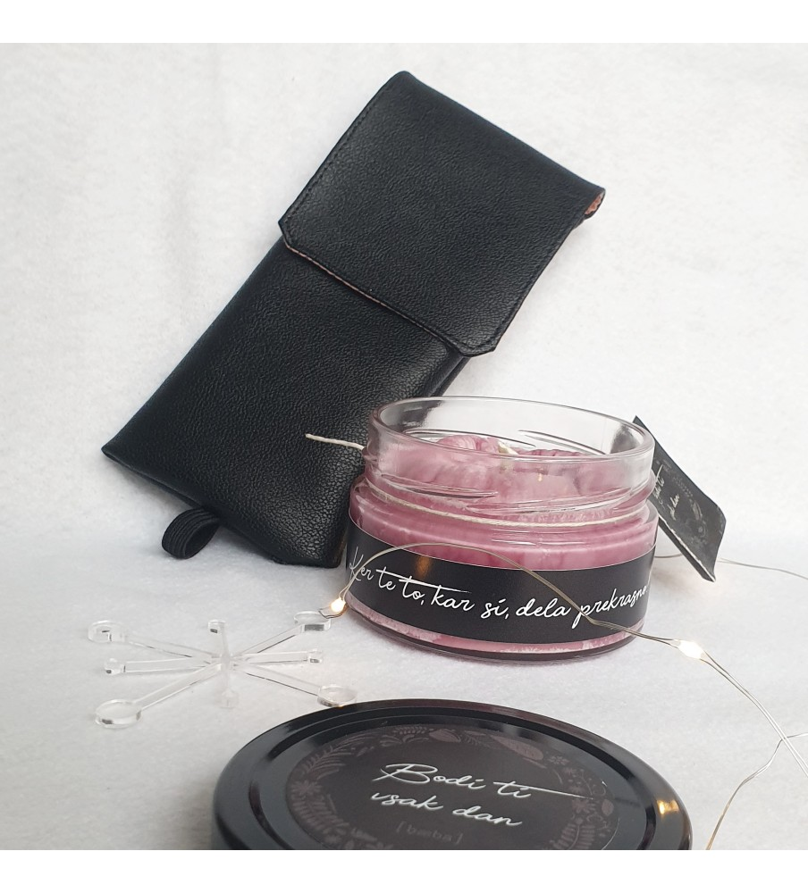 "Gift set ""Candle & Pencilcase"""