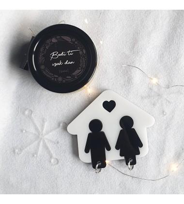 """Gift set """"Candle & Key holder"""""""
