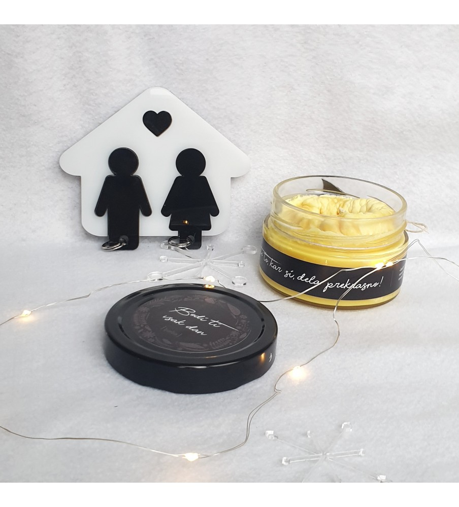 "Gift set ""Candle & Key holder"""