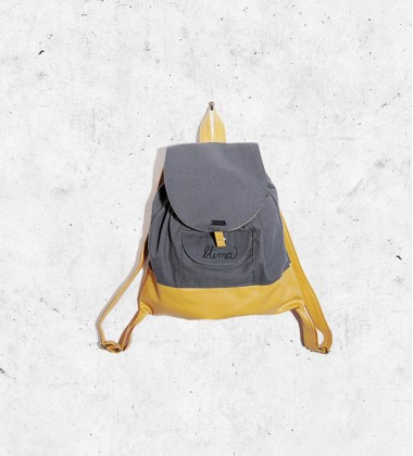 "Backpack ""On your way"" - Yellow"