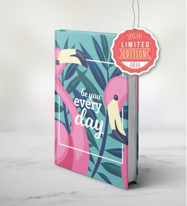 """LIMITED EDITION"" Baeba planner - Flamingo"