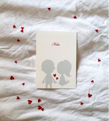 Valentine's card We