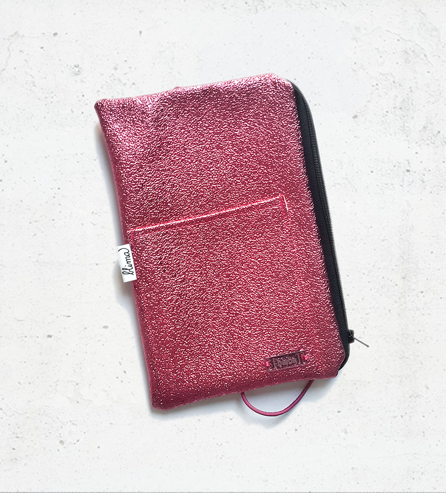 Pencil case Sparkle - Pink