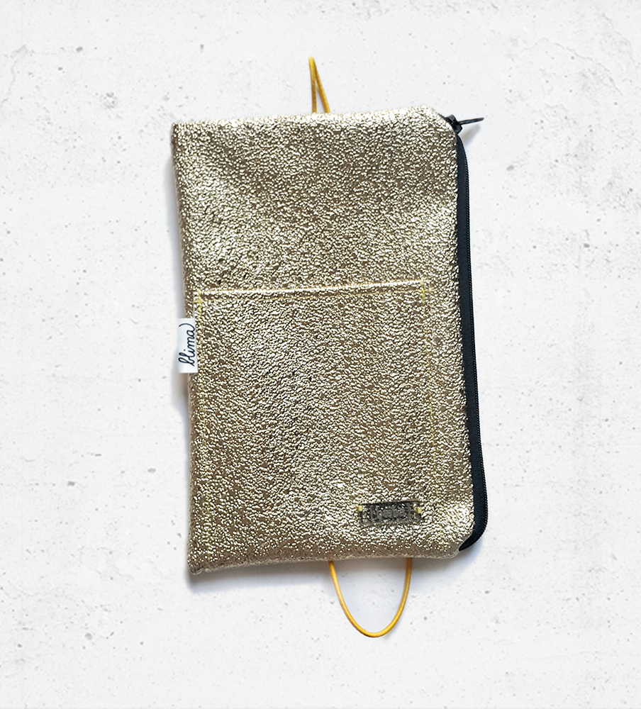 Pencil case Sparkle - Gold