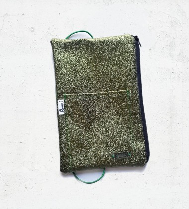 Pencil case Sparkle - Green