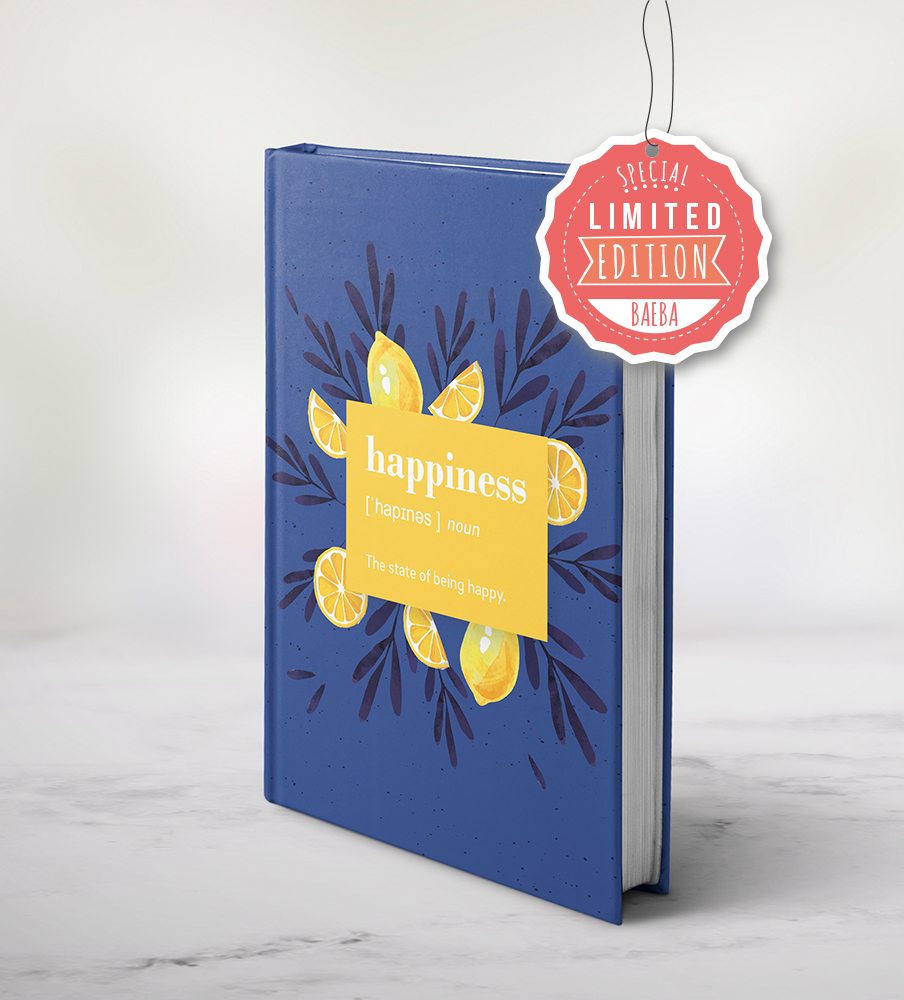 """""""LIMITED EDITION"""" Baeba planner - Happines"""