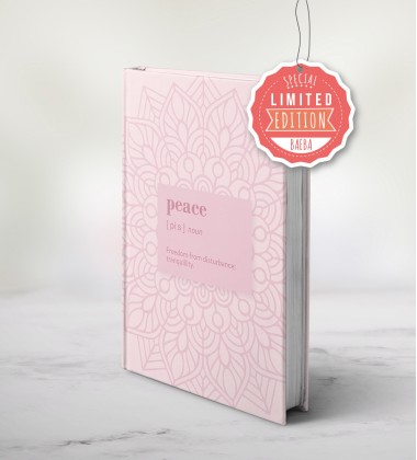 """LIMITED EDITION"" - PRESALE - Baeba planner - Peace"
