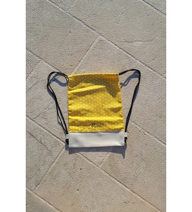 "Backpack ""Luck on the string"" - Yellow"